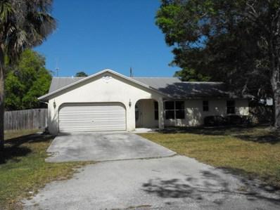 372 Melton Drive, Fort Pierce, FL 34982 - MLS#: RX-10405537