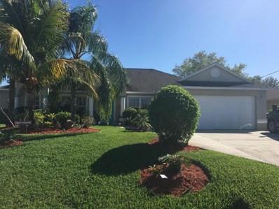 824 SW McComb Avenue, Port Saint Lucie, FL 34953 - MLS#: RX-10405588