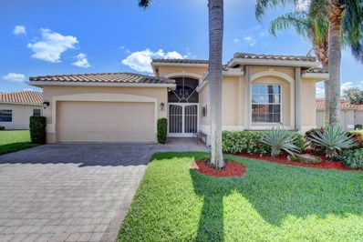 7202 Catania Drive, Boynton Beach, FL 33472 - MLS#: RX-10405811