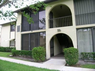 240 Pine Hov Circle UNIT C-1, Greenacres, FL 33463 - #: RX-10406062