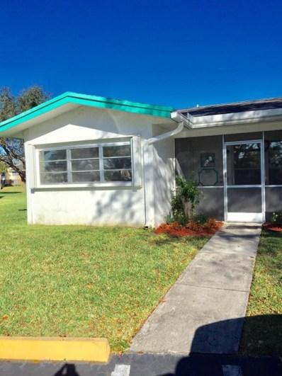 1158 NW 83rd Avenue UNIT A66, Plantation, FL 33322 - MLS#: RX-10406286