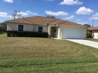 636 NW Sharpe Street, Port Saint Lucie, FL 34953 - MLS#: RX-10406533