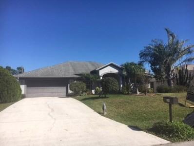 1213 SW Janette Avenue, Port Saint Lucie, FL 34953 - MLS#: RX-10406578