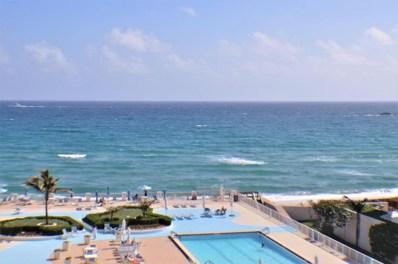 3546 S Ocean Boulevard UNIT 708, South Palm Beach, FL 33480 - MLS#: RX-10406886