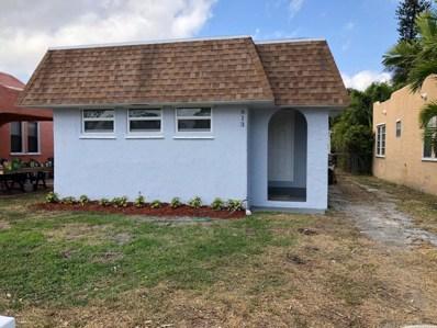 613 S M Street, Lake Worth, FL 33460 - MLS#: RX-10407897