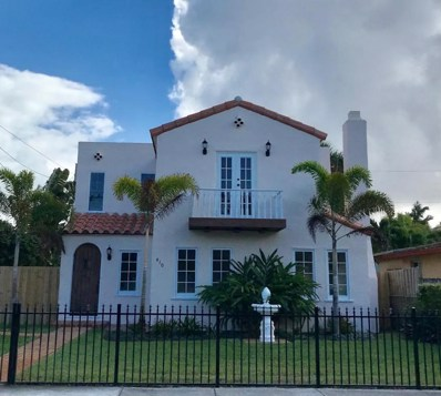 410 34th Street, West Palm Beach, FL 33407 - MLS#: RX-10408401