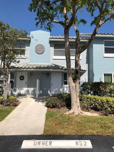 852 E Jeffery Street, Boca Raton, FL 33487 - MLS#: RX-10408453