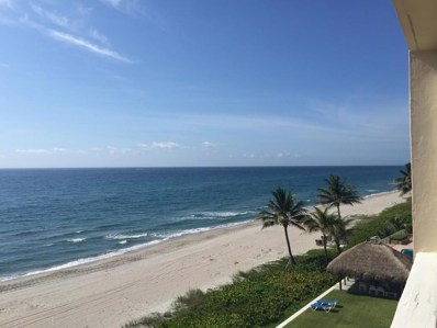 2909 S Ocean Boulevard UNIT 5a3, Highland Beach, FL 33487 - MLS#: RX-10408571