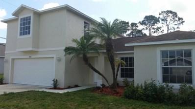 514 NW Argosy Avenue, Port Saint Lucie, FL 34983 - MLS#: RX-10408577