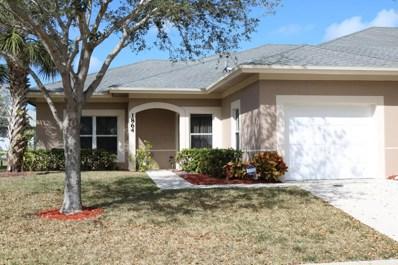 1864 S Dovetail Drive UNIT 1, Fort Pierce, FL 34982 - MLS#: RX-10408632