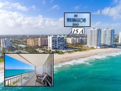 1390 S Ocean Boulevard UNIT 15a, Pompano Beach, FL 33062 - MLS#: RX-10408652
