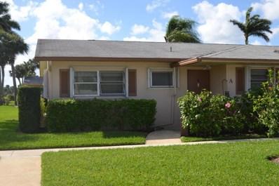 2593 Dudley Drive W UNIT A, West Palm Beach, FL 33415 - MLS#: RX-10408719