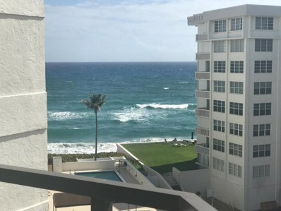 3560 S Ocean Boulevard UNIT 709, South Palm Beach, FL 33480 - MLS#: RX-10409018