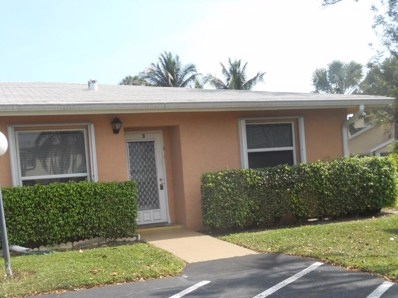 1240 NW 20th Avenue UNIT 14-D, Delray Beach, FL 33445 - MLS#: RX-10409137