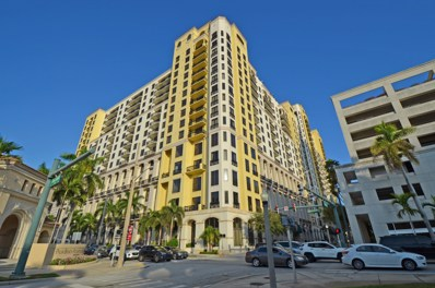 801 S Olive Avenue UNIT 1514, West Palm Beach, FL 33401 - MLS#: RX-10409416