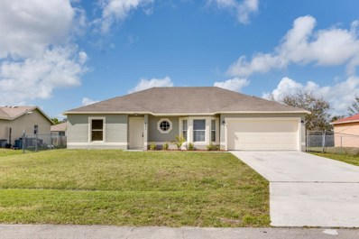 431 SW Meadow Terrace, Port Saint Lucie, FL 34984 - MLS#: RX-10409478