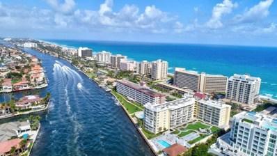 3114 S Ocean Boulevard UNIT 806, Highland Beach, FL 33487 - MLS#: RX-10409576