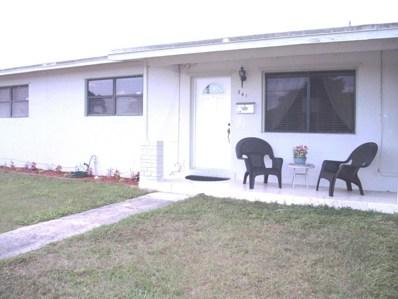 341 Davis Road, Palm Springs, FL 33461 - MLS#: RX-10409750