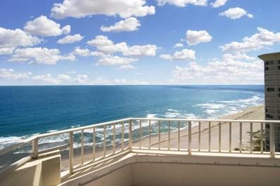 500 S Ocean Boulevard UNIT 1908, Boca Raton, FL 33432 - MLS#: RX-10409809