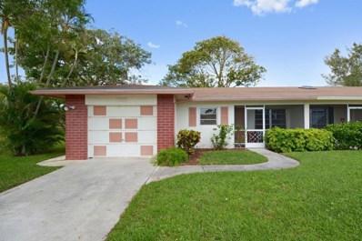13313 Via Vesta UNIT A, Delray Beach, FL 33484 - MLS#: RX-10410070