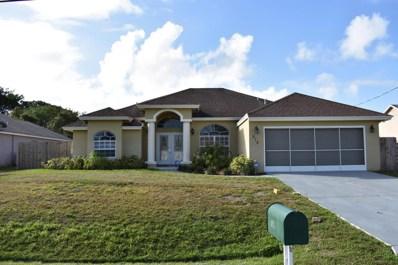 812 SW McComb Avenue, Port Saint Lucie, FL 34953 - MLS#: RX-10410217