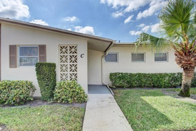 2536 Emory Drive E UNIT C, West Palm Beach, FL 33415 - MLS#: RX-10410499