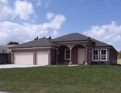 825 SW General Patton Terrace, Port Saint Lucie, FL 34953 - MLS#: RX-10410504