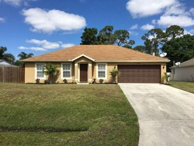 1781 SW Aztec Avenue, Port Saint Lucie, FL 34953 - MLS#: RX-10411316