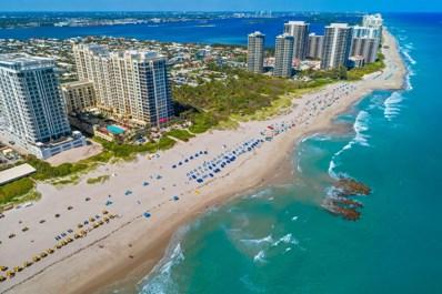 3800 N Ocean Drive UNIT 917, Riviera Beach, FL 33404 - MLS#: RX-10411326