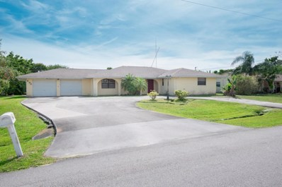 502 SW Violet Avenue, Port Saint Lucie, FL 34983 - MLS#: RX-10412166