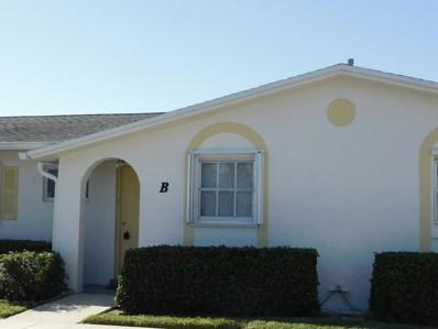 2630 Emory Drive E UNIT B, West Palm Beach, FL 33415 - MLS#: RX-10414005