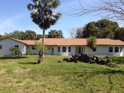 1586 E Road, Loxahatchee Groves, FL 33470 - #: RX-10414357