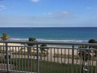1051 Hillsboro Mile UNIT 506e, Hillsboro Beach, FL 33062 - MLS#: RX-10414482