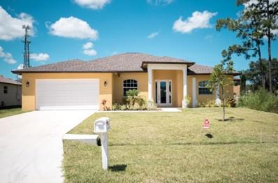 2062 SW Burman Lane, Port Saint Lucie, FL 34953 - MLS#: RX-10416635