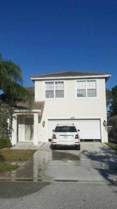 6804 Hendry Drive, Lake Worth, FL 33463 - MLS#: RX-10416933
