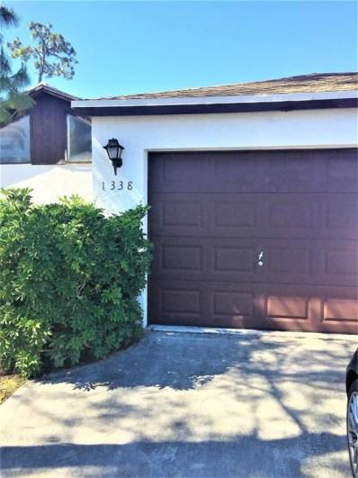 1338 Periwinkle Place, Wellington, FL 33414 - MLS#: RX-10417065