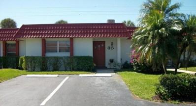 5800 Fernley Drive W UNIT 35, Greenacres, FL 33415 - MLS#: RX-10417519