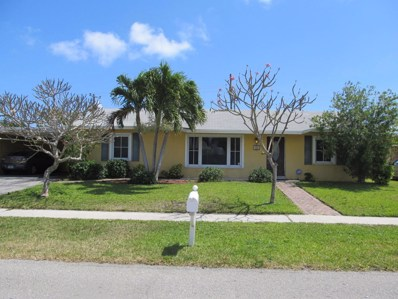 502 S 13th Place, Lantana, FL 33462 - MLS#: RX-10417740