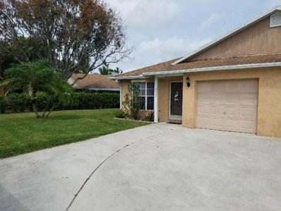 10423 Boynton Place Circle, Boynton Beach, FL 33437 - MLS#: RX-10418004