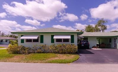 627 Hummingbird Lane, Delray Beach, FL 33445 - MLS#: RX-10418239