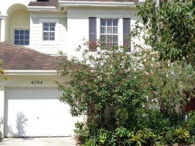 4204 Emerald Vista, Lake Worth, FL 33461 - MLS#: RX-10418405