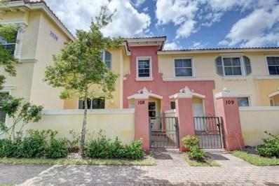 2938 Hope Valley Street UNIT 108, Royal Palm Beach, FL 33411 - MLS#: RX-10418481