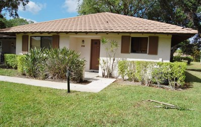 216 Club Drive UNIT 216, Palm Beach Gardens, FL 33418 - MLS#: RX-10418811