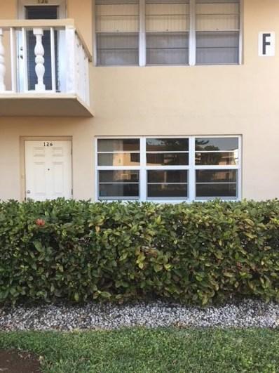 126 Berkshire F, West Palm Beach, FL 33417 - MLS#: RX-10418928