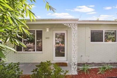 1612 N O Street, Lake Worth, FL 33460 - MLS#: RX-10419217