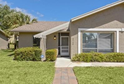 2729 Zorno Way, Delray Beach, FL 33445 - MLS#: RX-10419363
