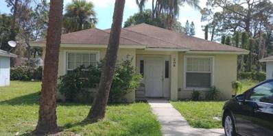 206 N 22nd Street, Fort Pierce, FL 34950 - MLS#: RX-10419592