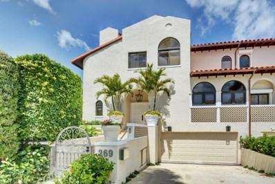 269 Everglade Avenue, Palm Beach, FL 33480 - MLS#: RX-10419611