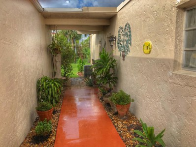 2534 Boundbrook Drive S UNIT 115, West Palm Beach, FL 33406 - MLS#: RX-10419792