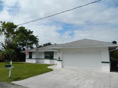 4436 SE Tribout Lane, Stuart, FL 34997 - MLS#: RX-10420004